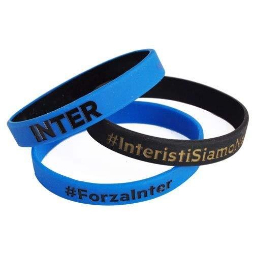 Inter Set 3 ARMBÄNDER Abzeichen F.C. Internazionale Offizielle Produkt Idee Geschenk Soccer Serie A