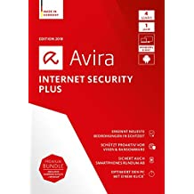 Avira Internet Security Plus (2018) - 4 Geräte Standard, Windows 7