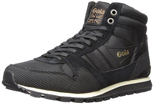 Gola Herren Ridgerunner High II Top, Schwarz (Black/Black), 42 EU (Schwarz Schuhe Gola)
