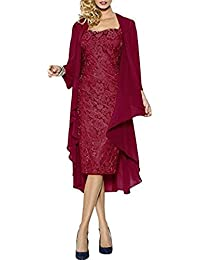 Elegante damen kleider mit jacke