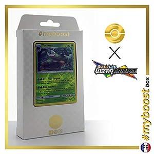 Torterra 9/156 Holo Reverse - #myboost X Soleil & Lune 5 Ultra-Prisme - Box de 10 Cartas Pokémon Francés
