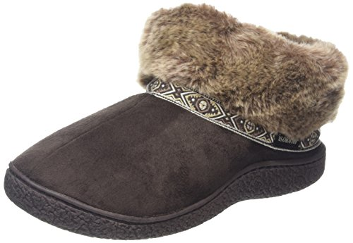 isotoner-women-pillowstep-bootie-with-fur-cuff-and-tape-trim-low-top-slippers-brown-chocolate-5-uk-3