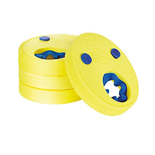 Zoggs Kinder Schwimmflügel Float Discs, Yellow/Blue, One Size