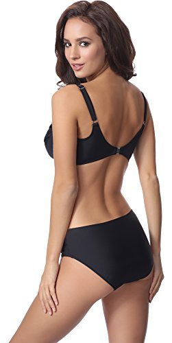 Merry Style Damen Bikini Set P61472W Schwarz
