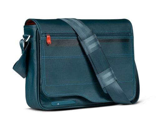 be.ez LE Reporter Tasche für MacBook 33 cm (13 Zoll) bis 38,1 cm (15 Zoll) Kingfisher -