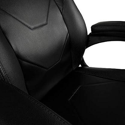 41lIfV k29L. SS416  - Nitro Concepts C100 Silla de Gaming - Silla de Oficina - Silla de Escritorio - Cuero sintético de PU
