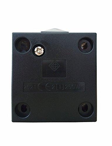 Interruptor de la puerta / [1Pack] SFTlite Empuje de superficie Negro Para...