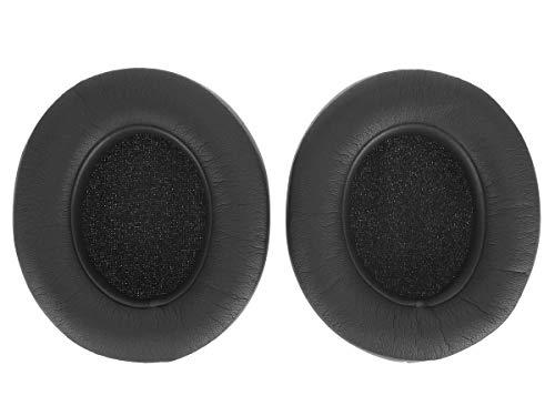 Wewom 2 cuscinetti di ricambio per auricolari beats by dr. dre studio3 wireless, neri