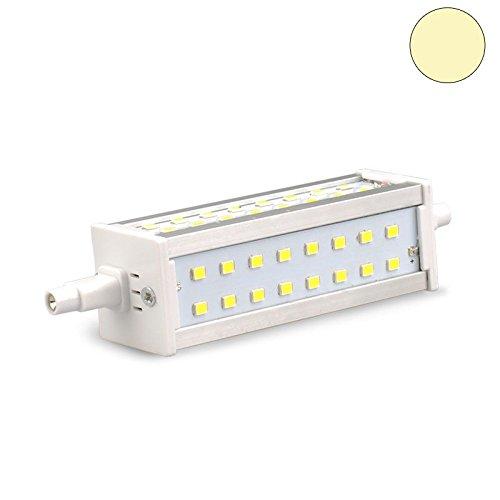 Isolicht R7s SLIM LED Leuchten Retro R7s LED Stab SLIM, 8W, 48SMD, L: 118mm, 2700K warmweiss