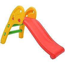 Homcom - Tobogan para niños 1 año casa o jardin 110 x 54 x 70 cm max. 60 kg