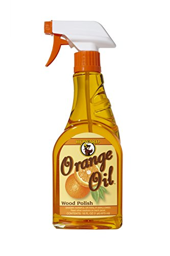 16 Unzen-orange Öl (Howard ORS016 473 ml/16 oz orangeoil Holz Polish Trigger Spray)