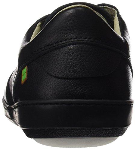 El Naturalista N211 Soft Grain Meteo, Stringate Derby Scarpe Uomo Nero (Black / Black)