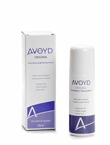 AVOYD Original 90ml vermeidet eingewachsene Haare, Rasierbrand, Rötungen und Rasierpickel