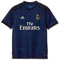 adidas Real Madrid Away Jersey Camiseta de Manga Corta, Unisex Niños, Azul (Night Indigo), 176 (15/16 años)