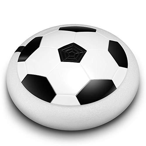 YuanChengKeji Giocattoli sportivi Air Power Soccer Disc LED leuchtet elektrisches Gleiten schwimmende Fußball Indoor Outdoor Spiel Kinder Spielzeug