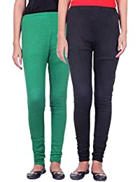 Belmarsh Warm Leggings - Pack of 2 (Green_Black)