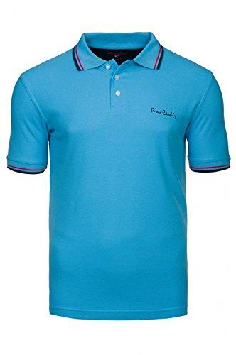 polo-uomo-pierre-cardin-100-cotone-xxl-azzurro