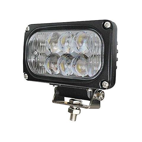 PENG 4 pouces 30W super spot lumineux LED 4D lentille du projecteur de véhicule hors route avant la conversion a conduit les feux de voiture