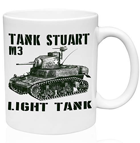TANK STUART M3 11oz Ceramic High Quality Coffee Mug