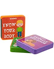 Amazon Brand - Solimo My Very First Foam Books (Set of 3, Alphabets, Know your Body, Animals & Birds)