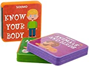 Amazon Brand - Solimo My Very First Foam Books (Set of 3, Alphabets, Know your Body, Animals & Bi