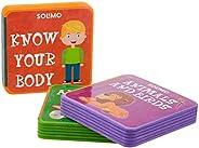 Amazon Brand - Solimo My Very First Foam Books (Set of 3, Alphabets, Know your Body, Animals & Bi