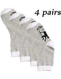 QUICKLYLY 1 pares Calcetines de Algodón/Lana Térmicos Adulto Hombre/Mujer Para Otoño e