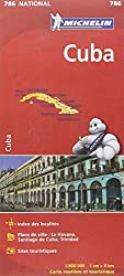 Carte NATIONAL Cuba Michelin