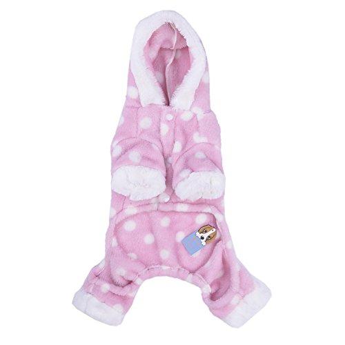 Hunde/Katze Pyjamas, Weich Haustier Schlafanzug Jacken/Sweatshirt/Kapuzenpullover für Kleine und Mittelgroße (Hund Kostüme Erwachsener)