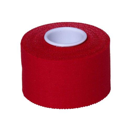 Sporttape Premium 3,8 cm x 10 m Rot Blau Grün Gelb Schwarz Bunt Farbig (rot)