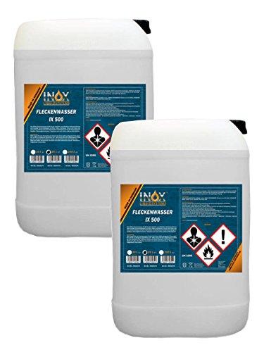 INOX Fleckenwasser IX 500 2 x 25 Liter - Kfz-Textilreiniger