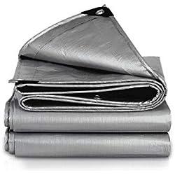 QXJPZ Cubierta de lámina Impermeable para el Suelo Extra Resistente para tareas de construcción de Lona (Disponible en una Variedad de tamaños) (Size : 3x3m)