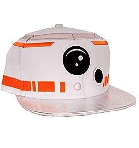 STAR WARS Episodio 7 - La Fuerza despierta - BB-8 astromecánico casquillo del snapback droide blanco/plata