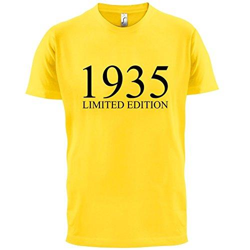 1935 Limierte Auflage / Limited Edition - 82. Geburtstag - Herren T-Shirt - 13 Farben Gelb