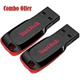 SanDisk Cruzer Blade SDCZ50-32G 32GB Pen Drive (Pack of 2)