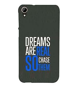PRINTSHOPPII QUOTES Back Case Cover for HTC Desire 828 Dual SIM