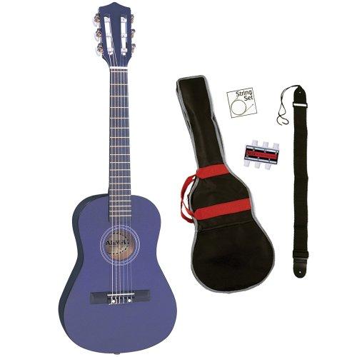 Palma PJPLOFT Klassik-Gitarren-Set Kinder, metallic violett 1/2 Grösse