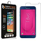 TechBasics TBTGSAMJ4 Tempered Glass Screen Protector for Samsung Galaxy J4 (Clear)