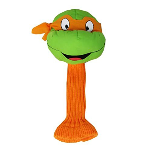 Michaelangelo Teenage Mutant Ninja Turtle Golf Driver HeadCover (Michaelangelo Turtle Ninja)
