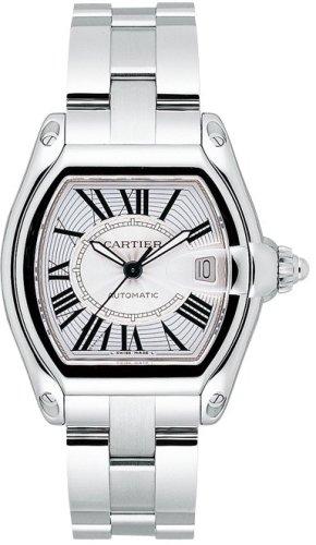 Roadster–Reloj Acero para Hombre Cartier W62025V3reloj de pulsera (reloj de pulsera)