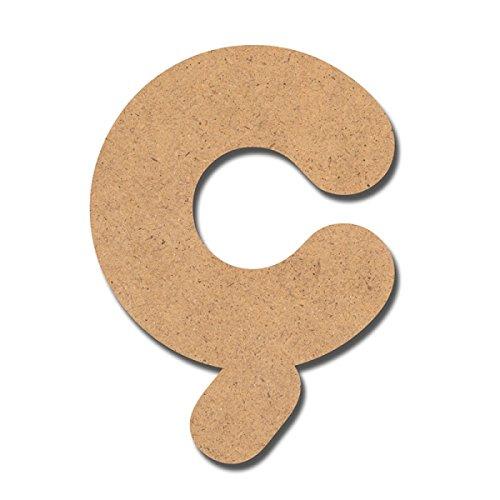 Canevas pour enfant Loisirs créatifs - Lettre en bois 7 cm C