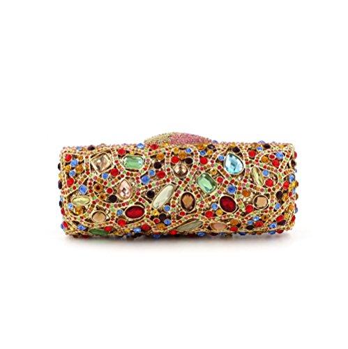 MYM Forfait souper Europe et le paquet de style dames paquet mariée cristal de diamant de diamant de forage sac couleur États-Unis
