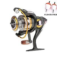 BNT Boat Rock Spinning Fishing Reel 11BB 5.2 : 1 Metal Carp Fishing Wheel Spinning Reel 1000 2000 3000 4000 5000 6000 Series (11BB DK1000 Series)
