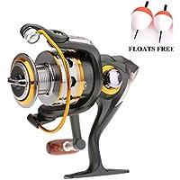 Carrete de pesca spinning, de la marca BNTCarrete de metal para pesca spinning, series 1000, 2000, 3000, 4000, 5000, 6000 y 7000., 11BB DK5000 Series