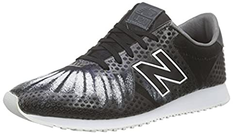 New Balance Damen WL420DF Sneakers, Grau (Grey/Black), 39 EU