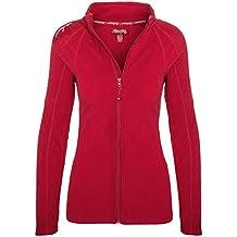 Geographical Norway Damen Fleece Jacke Übergangs Sweatjacke Pullover