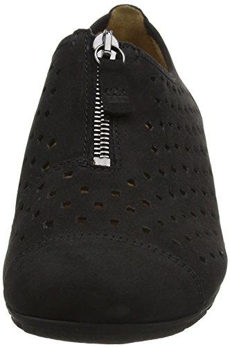Gabor Damen Fashion Loafer Schwarz (schwarz 17)