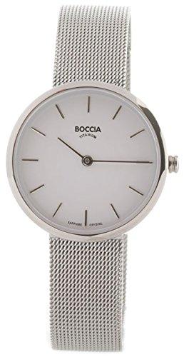Boccia Reloj Analógico para Mujer de Cuarzo con Correa en Acero Inoxidable 3279-04