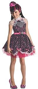 Monster High - Disfraz de Draculaura Sweet para niña, Talla L infantil 3-4 años (Rubie
