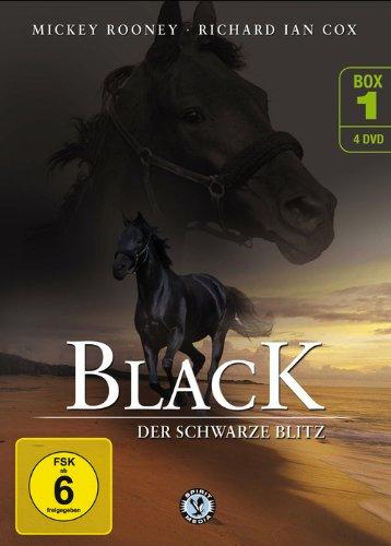 Black, der schwarze Blitz - Box 1 [4 DVDs]